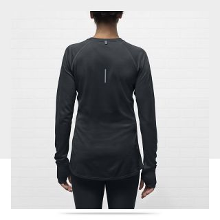 Nike Dri FIT Wool Crew Womens Running Shirt 484376_010_B