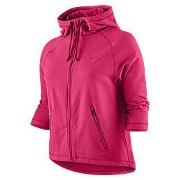 Felpa con cappuccio da training Nike Rib Twist   Donna 450698_634_A