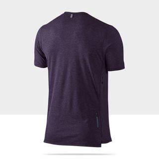 Nike Tailwind Short Sleeve V Neck Mens Running Shirt
