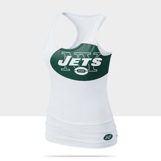 Nike Big Logo Tri Blend NFL Jets Womens Tank Top 472014_100_A