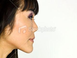 Profil, Asiatique de lEst, Femmes, Visage, Sérieux Photo libre de