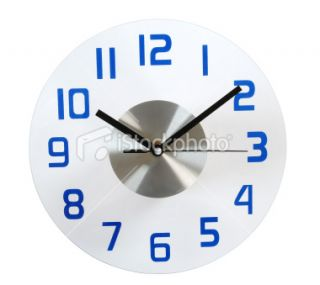 stock photo 13551086 clock clipping path