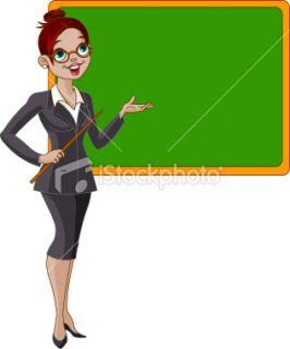 Profess, Cartoon, Salle de classe, Femmes, Conférencier