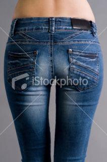 Jeans, Fesses, Pantalon, Femmes, Vue de dos  Stock Photo  iStock FR