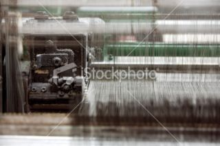 stock photo 11034021 waving machine detail