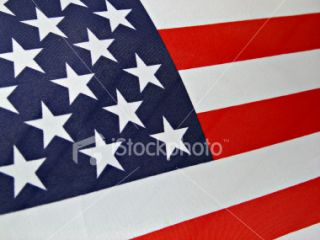 stock photo 113585 american flag wallpaper