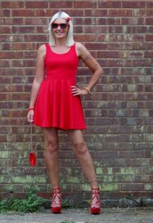 Little Red Dress  StormAngel  ASOS Marketplace