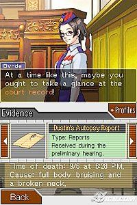 Phoenix Wright Ace Attorney Justice For All Nintendo DS, 2007