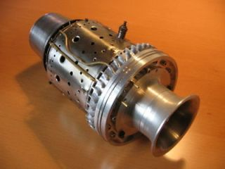 BUILD MINI KJ66 JET TURBINE ENGINE PLANS. CAD READY FOR CNC