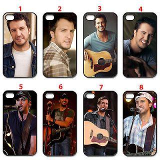 Assorted Design Luke Bryan Fans black apple iphone 4 4s hard case