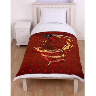 Lego Ninjago Fire Fleece Blanket 120x150cm New (FREE P+P)