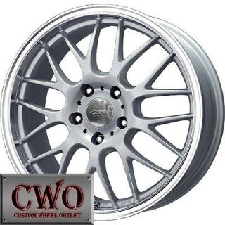 16 Silver MB Mesh X Wheels Rims 5x114.3 5 Lug Altima Maxima Eclipse