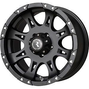 New 18X9 8x170 RACELINE WHL Raptor Black Wheels/Rims 8 Lug Ford F250