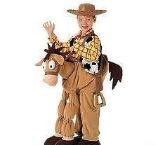 NWT Disney Toy Story S 5 6 Plush Bullseye Horse & Sheriff Woody Cowboy