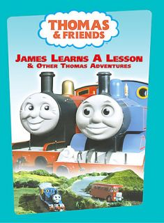 Thomas Friends   James Learns A Lesson DVD, 2009