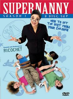 Supernanny   Season 1 (DVD, 2006, 3 Disc