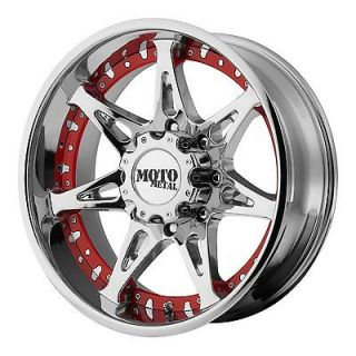 20x9 Moto Metal MO961 Chrome Wheel/Rim(s) 8x165.1 8 165.1 8x6.5 20 9