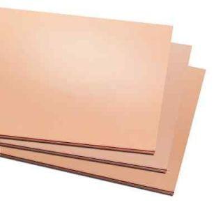 Nimrod Hall Copper Foil Sheet 3 mil(.003) x 12 x 12 Sheet