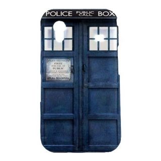 New Blue Police Call Box Dr. Who TARDIS Samsung Galaxy Ace S5830 Hard