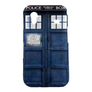 New Blue Police Call Box Dr. Who TARDIS Samsung Galaxy Ace S5830 Hard
