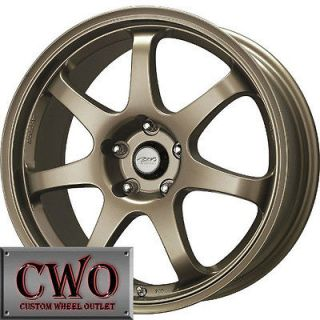 17 Bronze MB Weapon Wheels Rims 5x100 5 Lug WRX Impreza Subaru XD