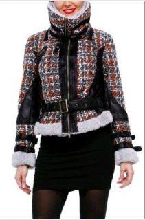 2012 Desigual Women Coat Blue 28E2916 Jacket Size 36 38 40 42 44 46