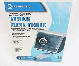 intermatic p1131 heavy duty above ground pool pump timer time