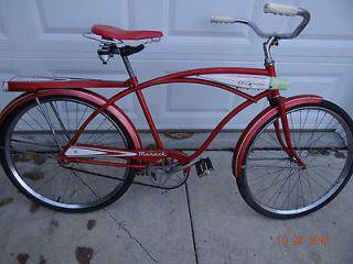 Vintage Monark El Camino 24 Single Speed Tank Bicycle/Bike Silver