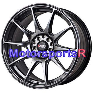 18 18x8.75 XXR 527 Chromium Black Concave Rims Wheels 04 07 08 Acura