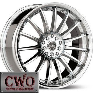 17 Chrome Ruff R950 Wheels Rims 4x100/4x114.3 4 Lug Civic Integra
