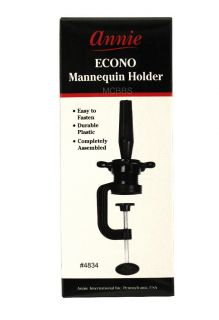 annie cosmetology mannequin head holder stand  3