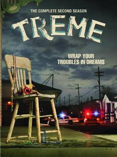 Treme The Complete Second Season DVD, 2012, 4 Disc Set