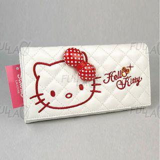 hello kitty wallet purse with zipped coins pocket 450 from