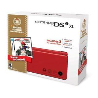 Nintendo DSi Super Mario Bros. Limited Edition Red Handheld