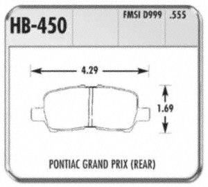 Hawk Performance HB450F.555 Disc Brake Pad