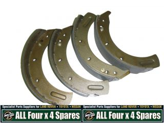 brake shoes front land rover series 2 3 lwb 4 cyl