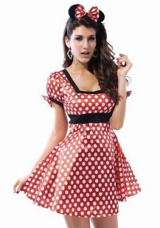 mickey minnie mouse dress costume women s ears s m