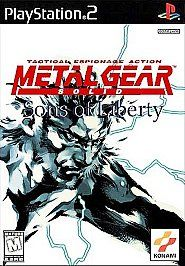 Metal Gear Solid 2 Sons of Liberty Sony PlayStation 2, 2001