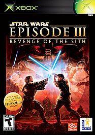 Star Wars Episode III Revenge of the Sith Xbox, 2005