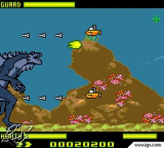 Godzilla The Series Monster Wars Nintendo Game Boy Color, 2000