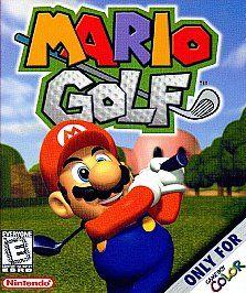 Mario Golf Nintendo Game Boy Color, 1999