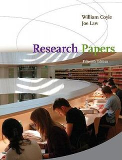 Research Papers by William Coyle and Joe Law 2009, Paperback