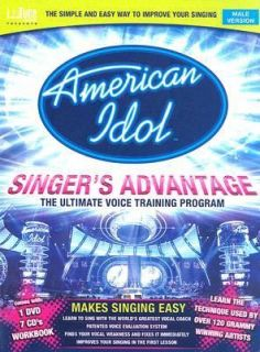 American Idol Singers Advantage   Male Version by Seth Riggs 2007, CD