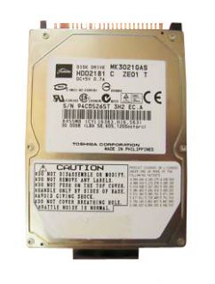 Toshiba MK3021GAS 30 GB,Internal,4200 RPM,2.5 HDD2181 Hard Drive