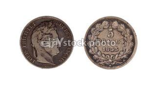 France 5 Francs, 1833