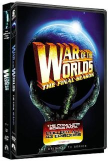 War of the Worlds Complete Series Pack DVD, 2010, 11 Disc Set