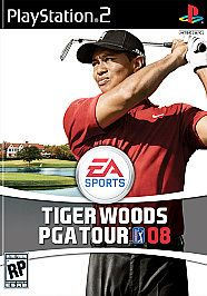 Tiger Woods PGA Tour 08 Sony PlayStation 2, 2007