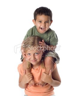 stock photo 13819646 shoulder ride