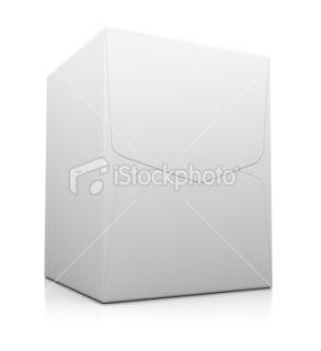 stock photo 15087532 white cardboard box