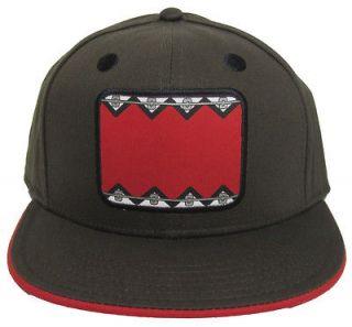 Domo kun Baseball Cap Hat   Domo Braces [Teen One Size Fits Most]